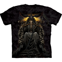Death Throne Adult T-Shirt