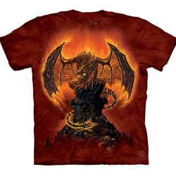 Harbinger of Fire Adult T-Shirt