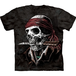 Plus Size Undead Pirate Adult T-Shirt