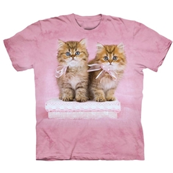Pretty Kittens Adult T-Shirt
