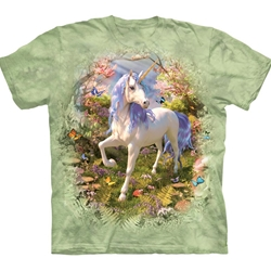 Unicorn Forest Adult T-Shirt 43-1082710
