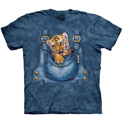 Bengal Tiger Overalls Youth's Tee Shirt 43-1510750