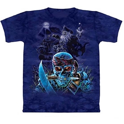 Zombie Pirates Youth's Tee Shirt 43-1515560