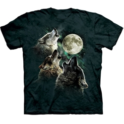 Three Wolf Moon Youth's Tee Shirt