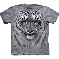 Snow Leopard Portrait Youth's T-Shirt 43-1531810