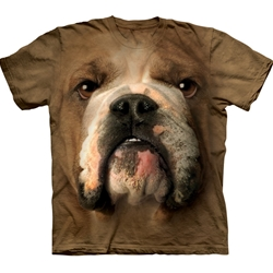 Bulldog Face Youth's T-Shirt 43-1532540