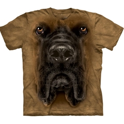 Mastiff Face Youth's T-Shirt 43-1532590