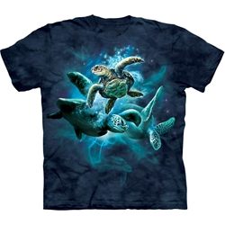 Sea Turtle Collage Youth's T-Shirt 43-1532880