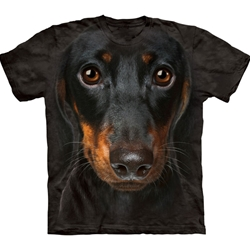 Dachshund Face Youth's T-Shirt 43-1533340