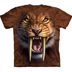 Sabertooth Tiger Youth's T-Shirt 43-1533380