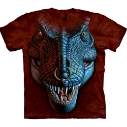 T-Rex Face Youth's T-Shirt 43-1533410
