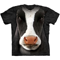 Black Cow Face Youth's T-Shirt 43-1533470