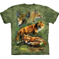 Red Fox Collage Youth's T-Shirt 43-1533540