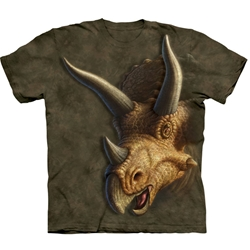 Triceratops Head Youth's Tee Shirt