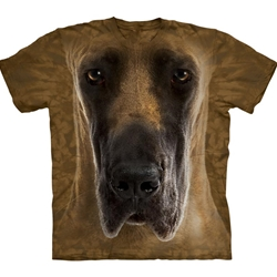 Great Dane Face Youth's T-Shirt 43-1534410