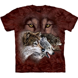 Find 9 Wolves Youth's Tee Shirt 43-1534590