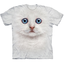 Ivory Kitten Face Youth's Tee Shirt
