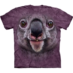 Koala Face Youth's Tee Shirt 43-1535510