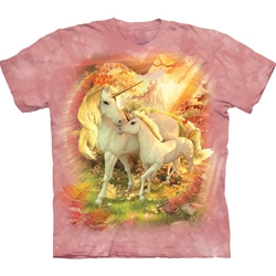 Mother and Baby Unicorn Youth's Tee Shirt 43-1535660