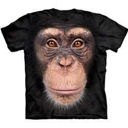 Chimp Face Youth's Tee Shirt 43-1535720