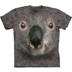 Gray Koala Face Youth's Tee Shirt 43-1535740