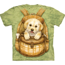 Puppy Backpack Youth's Tee Shirt 43-1535790