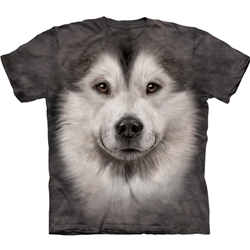 Alaskan Malamute Face Youth's Tee Shirt 43-1535920