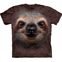 Sloth Face Youth's Tee Shirt 43-1535960