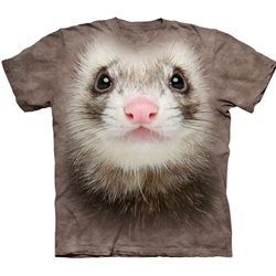 Ferret Face Youth's Tee Shirt 43-1536170