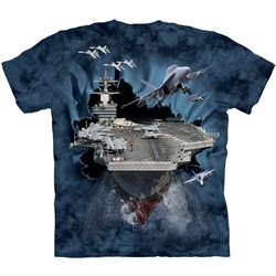 Aircraft Carrier Youth's Tee Shirt 43-1582630