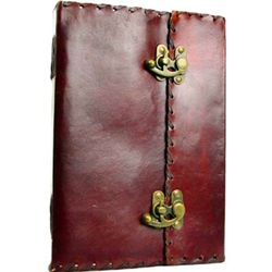 Extra Large 1842 Poetry Leather Blank Book 45-BBBCPOEXL