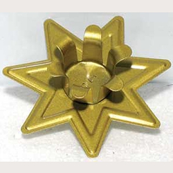 Seven Pointed Star Candle Holder  45-CH522