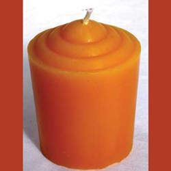 Fifteen Hour Orange Votive Candle 45-CVAO