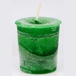 Money Herbal Votive Candle 45-CVHMON