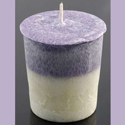 Palm Oil Votive Candle - Lavender Mist 45-CVSPLA