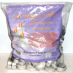 Tea Light Candles - Bulk Bag of 100 45-CVT100