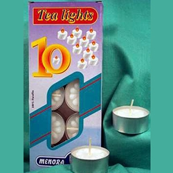 Tea Light Candles - Box of 10 45-CVTEA