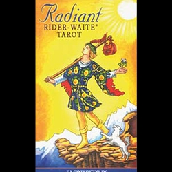 Radient Rider-Waite Tarot Deck 45-DRADRID