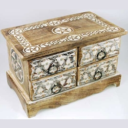 Pentagram Herb Chest 45-FBMW22