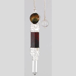 3 Piece Gemstone Pendulum Various