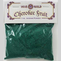 Green Cherokee Fruit Powdered Incense 45-IP16GC