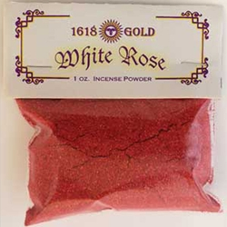 Red White Rose Powdered Incense 45-IP16RWR