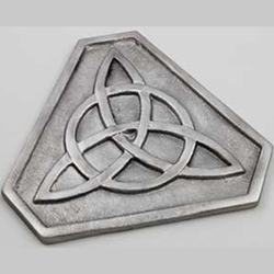 Triangular Triquetra Coaster 45-RA46T