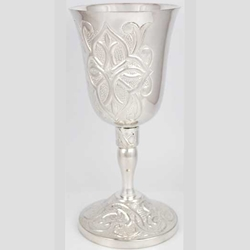 Gothic Cross Silver Chalice 45-RC378