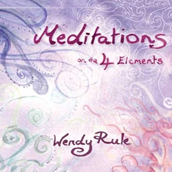 Meditations on the 4 Elements by Wendy Rule CD 45-UMED4ELE