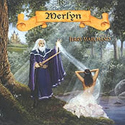 Merlyn: Celtic Harp Music by Jerry Marchand CD 45-UMERLYN