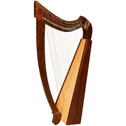 Heather Harp 22 Strings 3 Octaves Natural