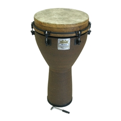 "Remo Djembe, Key, 12"" x 24"", Earth 47-DJ-0012-05"