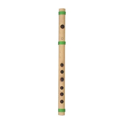 Bamboo Flute, Cane, D5, 12in