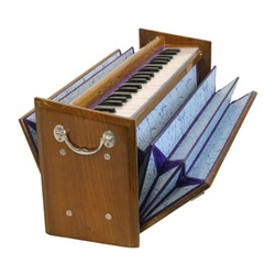 Harmonium, Double Reed, Flat Type